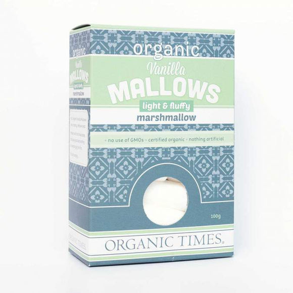 Organic Times Marshmallows (100g)
