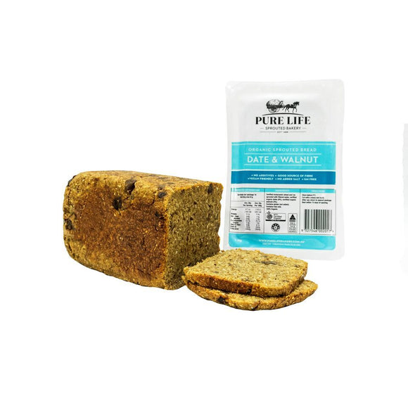 Pure Life Date & Walnut Loaf