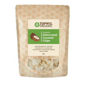 Topwil Organic Coconut Chips (150g)