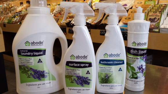 Abode Cleaning & Laundry Products