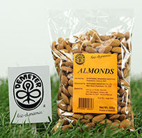 Demeter Biodynamic Raw Almonds (500g)