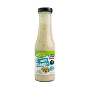 Absolute Organic Creamy Caesar Dressing 310ml