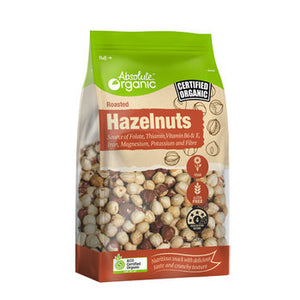Absolute Organics Roasted Hazelnuts 250g