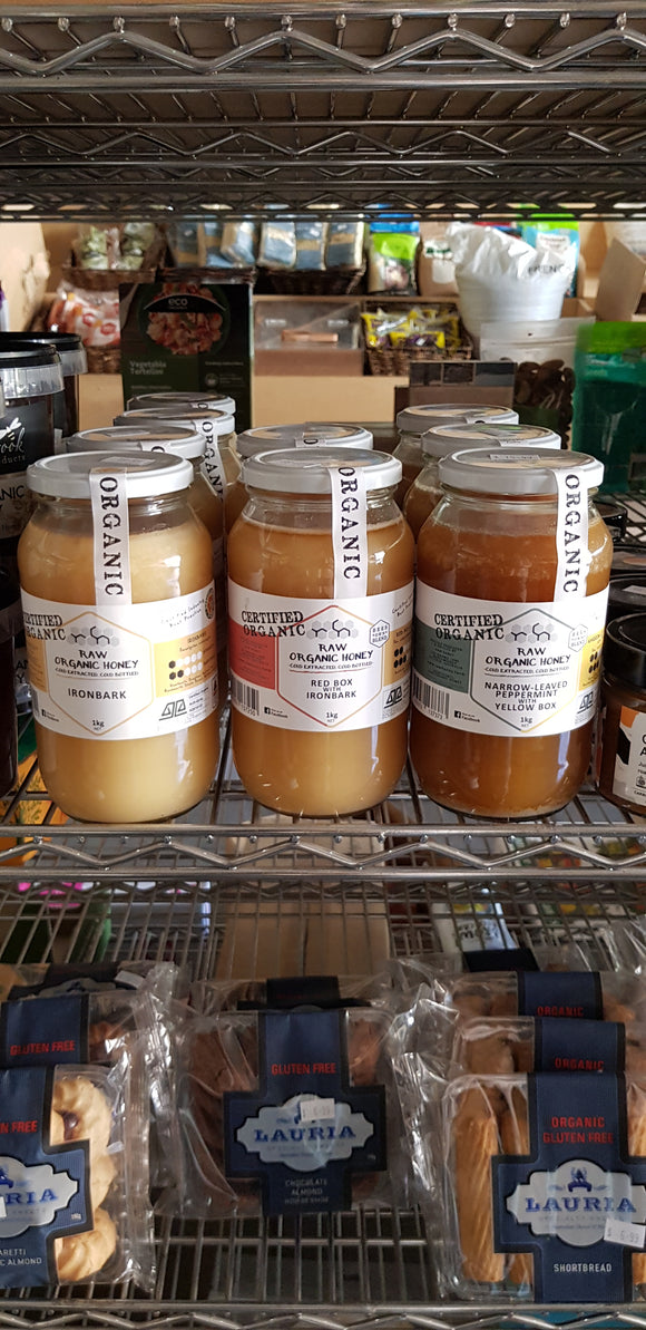 Organic raw honey (pls click for more options)