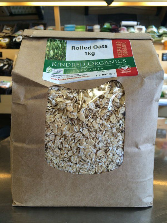 Kindred Organics Rolled Oats (1kg)