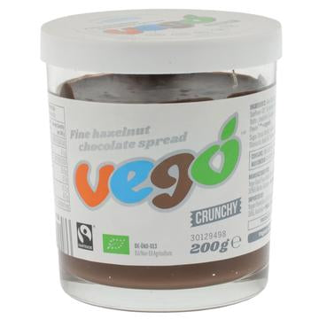 Vego Hazelnut Chocolate Crunchy Spread (200g)