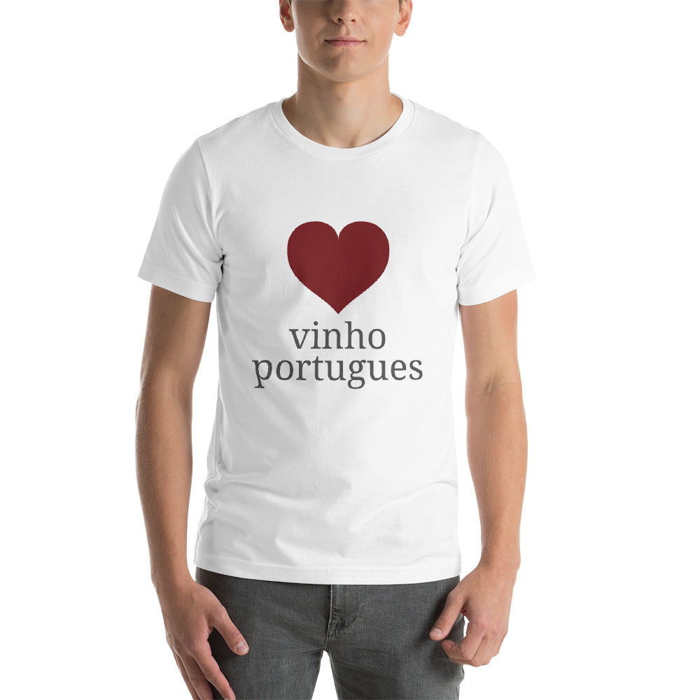Love Vinho Portugues Tshirt for Men