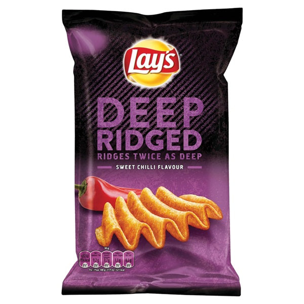 LAY'S SUPERCHIPS DEEP SWEET CHILI 147GR