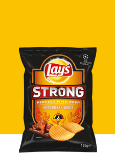 LAY'S STRONG HOT CHICKEN WINGS 150GR