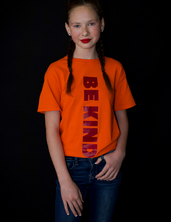 WCM BE KIND Orange Tee