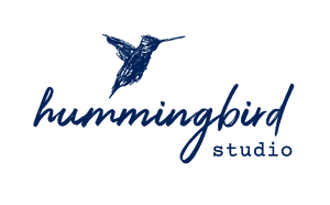 Hummingbird Art Studio Logo