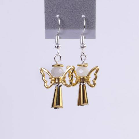 Holiday Angel Earrings