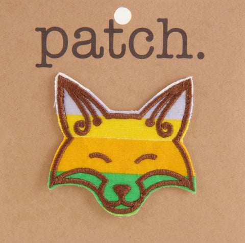 Fabric Patch Fox