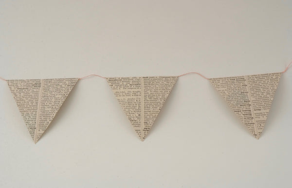 Dictionary Bunting