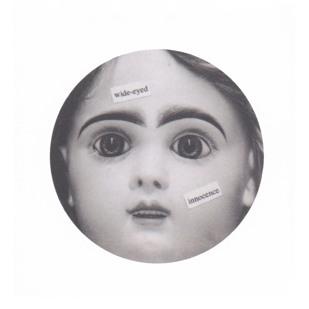 Wide Eyed Innocence Sticker