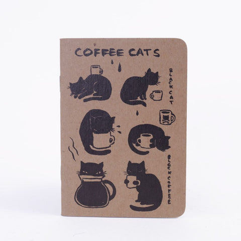 Coffee Cats Notebook