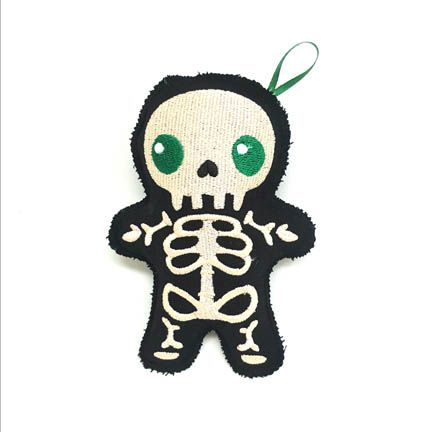 Stuffed Skeleton Doll