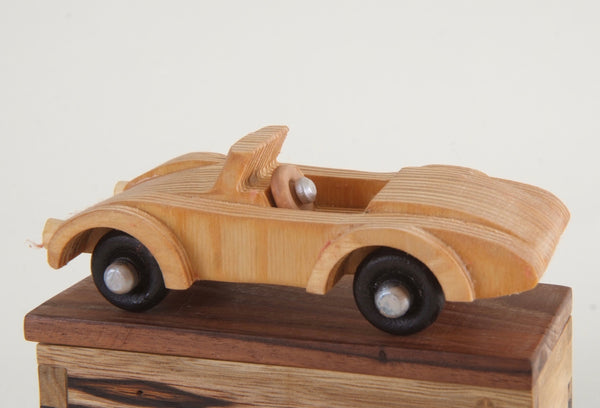 Handcarved Wooden AC Cobra