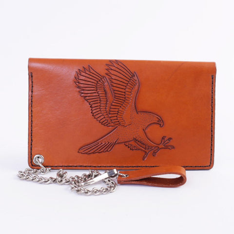 Biker Wallet with Raptor