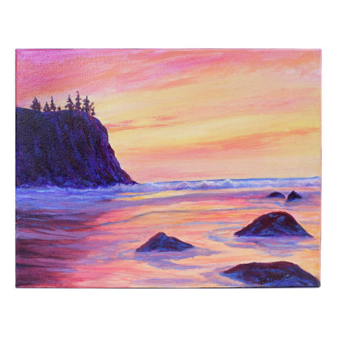Full Color - West Coast Oil Painting