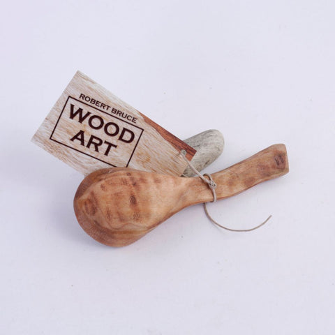 Curly Maple Art Spoon