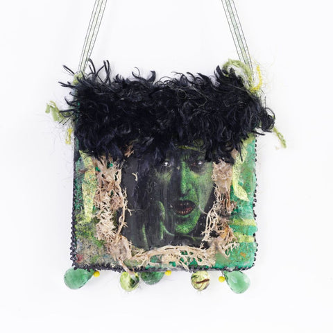 Green Witch Wall Hanging