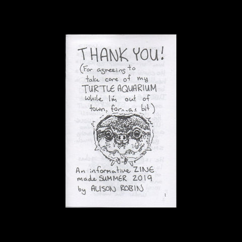 """Thank You"" Zine"