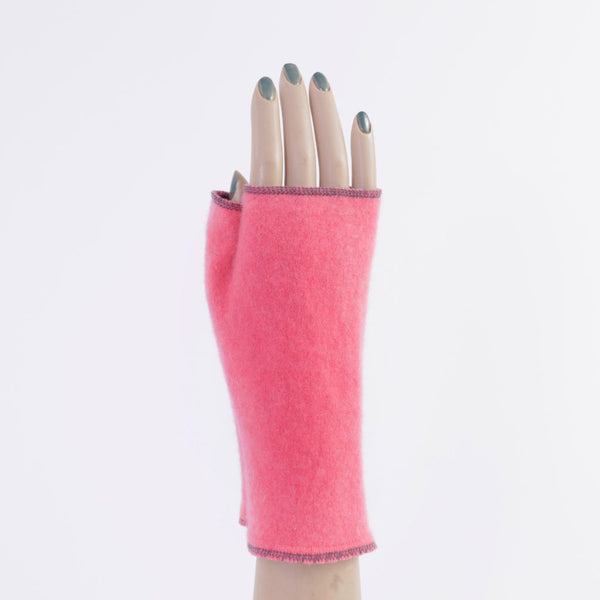 Pink / Melon Cashmere Armwarmers