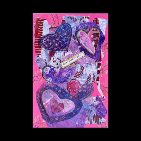 Bewitched by You Valentine Card