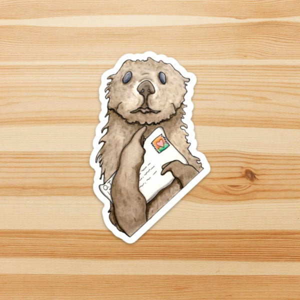 You Otter Write Sticker