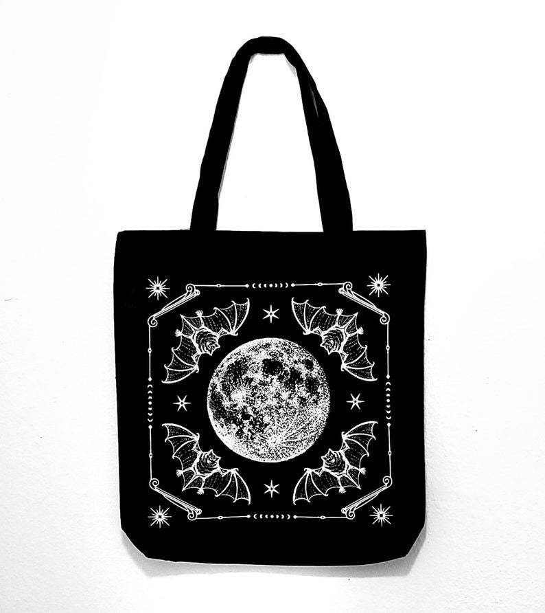 Night Ritual Tote Bag