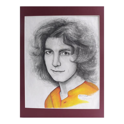 Original Drawing of Robert Plant