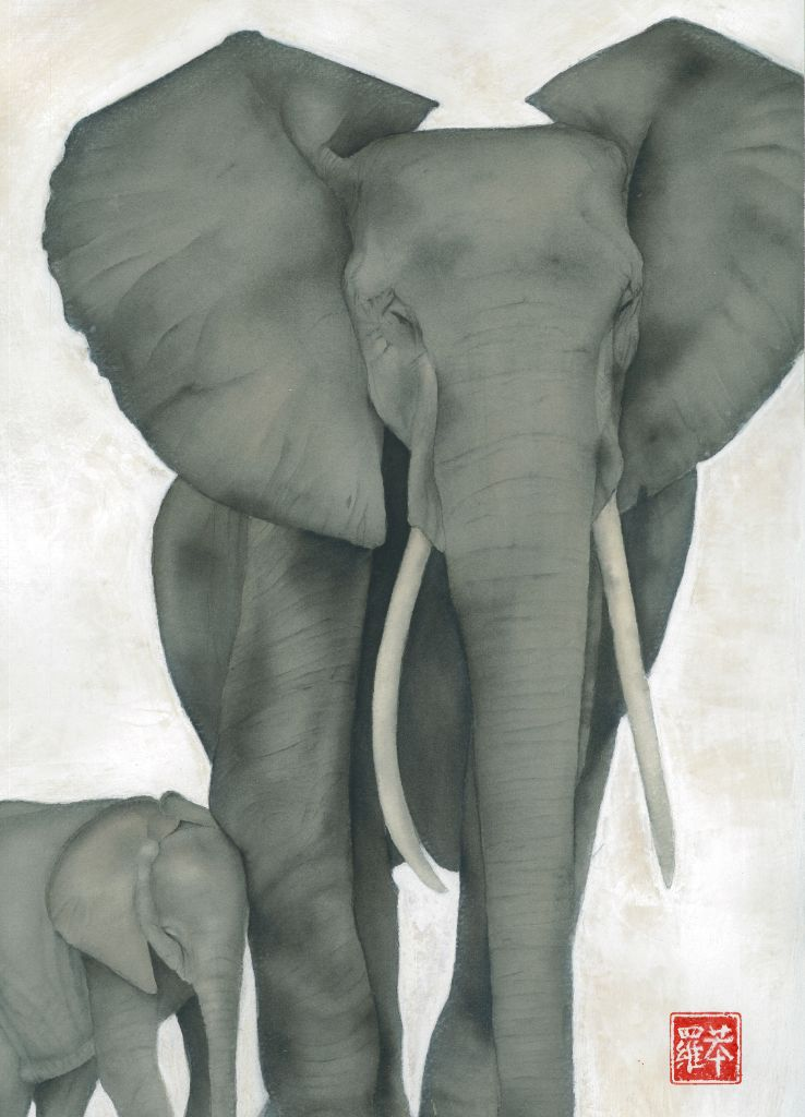 The Elephants Card