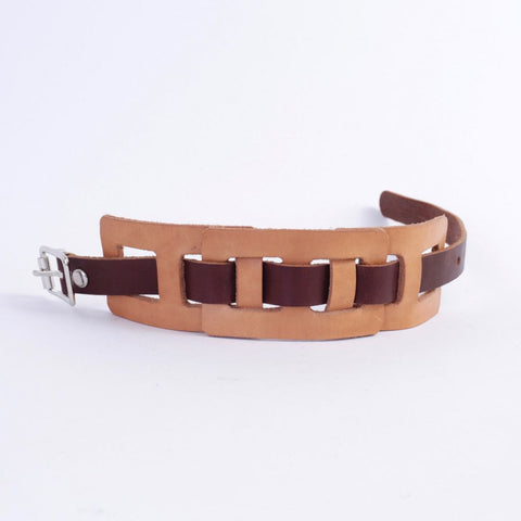 Custom Size Leather Bracelet