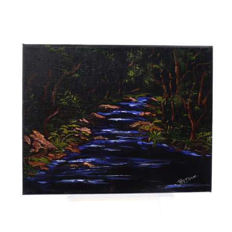 Jungle Walk Oil Painting by Pat McLaughlin