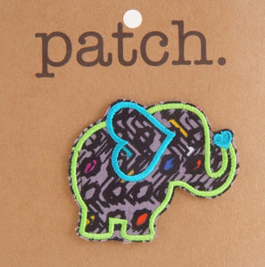 Fabric Patch Elephant