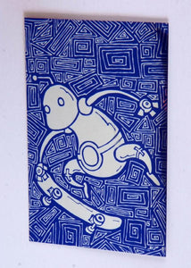 Foil Robot Sticker