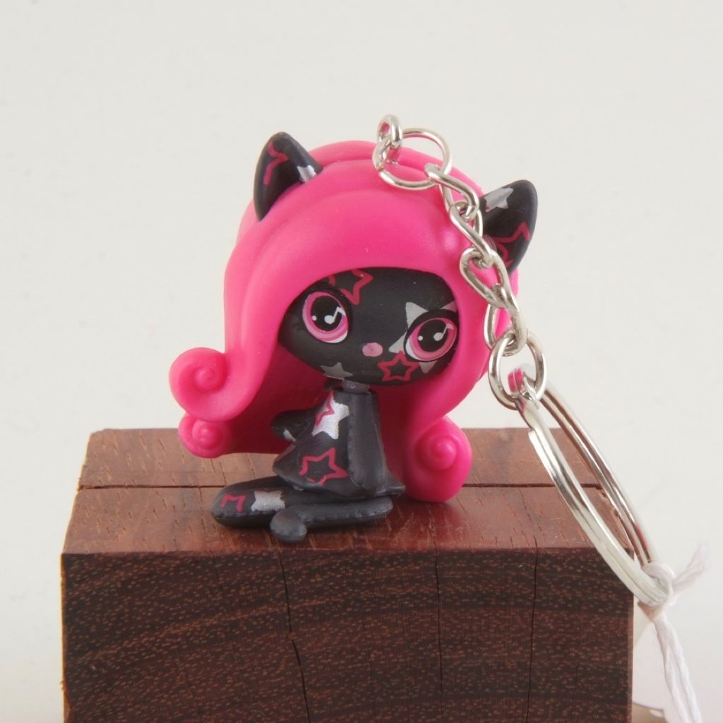 MH star cat keychain