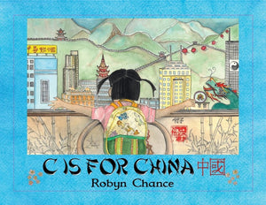 C is for China - Softcover Book
