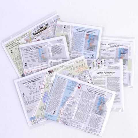 All Seven Psychogeographic Maps