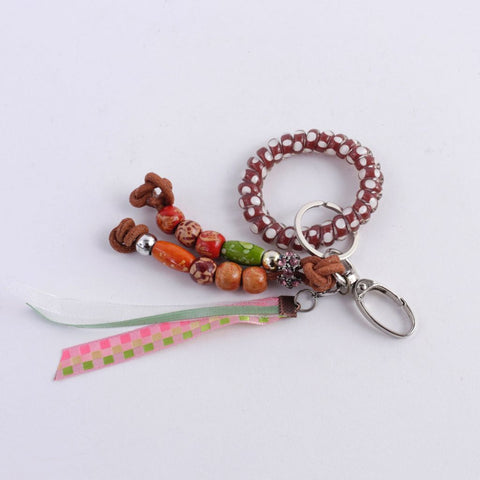 Beaded Keychain