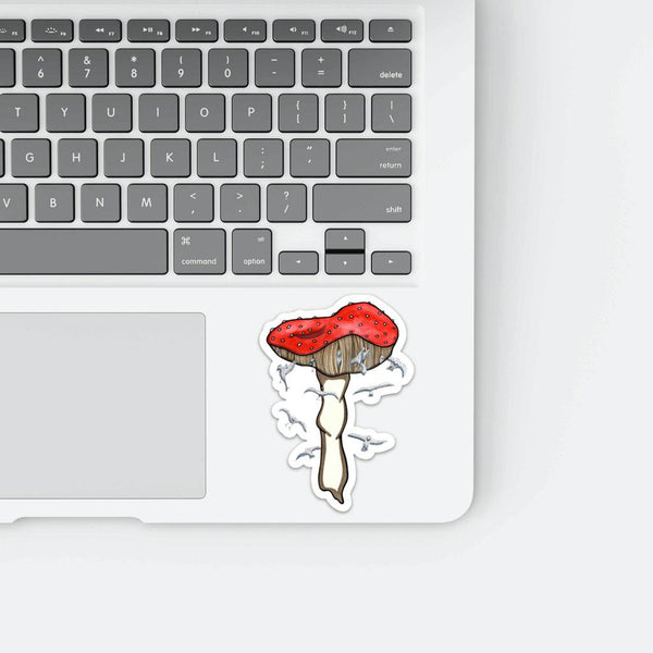 "Mushroom Magic, 4"" Sticker"