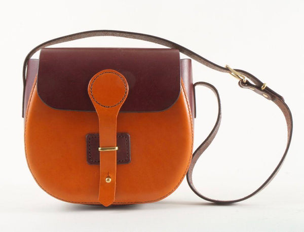 Two-tone Leather Purse