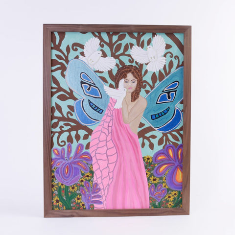 Flower Fairy Painting