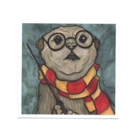 Harry Otter Sticker