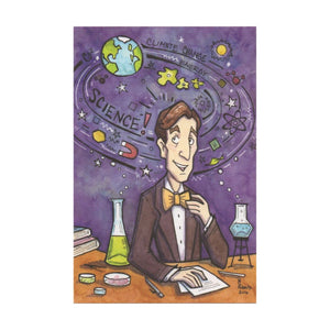 Science Guy Postcard