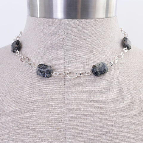 Grey Jasper Necklace