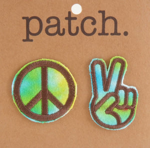Fabric Patch Peace