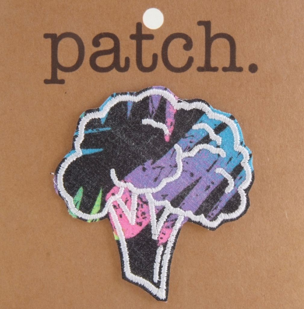 Fabric Patch Broccoli