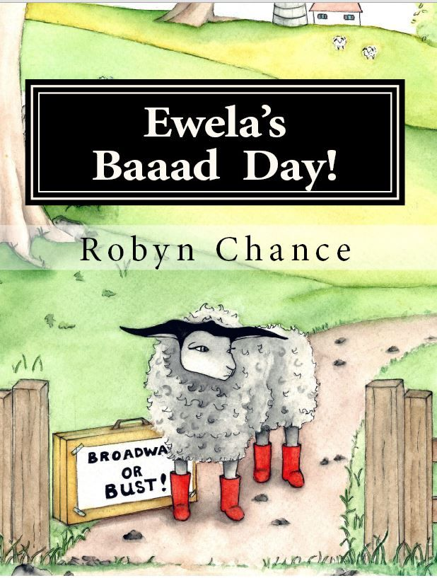 Ewela's Baaad Day! Softcover Book